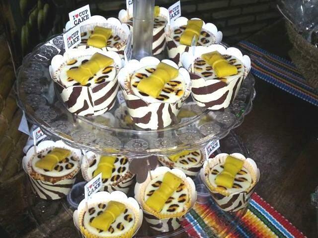 Cupcake feito com farinha da bocaiúva.