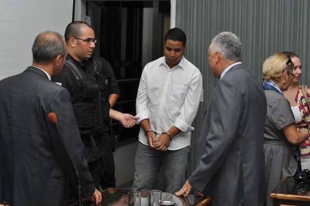 Anderson: condenado e na prisão porque assumiu o risco de causar o acidente com morte. (Foto: Marlon Ganassin)