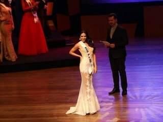 Paula ficou em terceiro lugar no concurso nacional. (Foto: Higor Blanco)