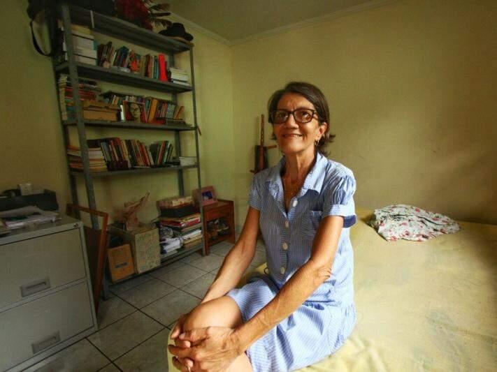 No quarto do filho, dona Dulce já está na torcida e acredita que Mamão vai longe. (Foto: André Bittar)