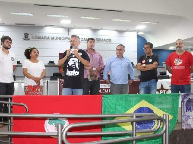 Evento do PT em Campo Grande (Foto: Divulgação/PT)