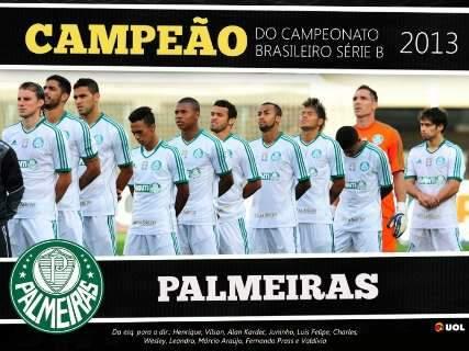 Com festa da torcida, Palmeiras vence o Boa e conquista título da Série B