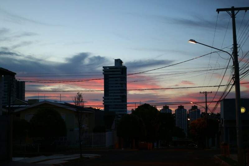 Campo Grande amanhece com mínima de 20ºC. (Foto: André Bittar)