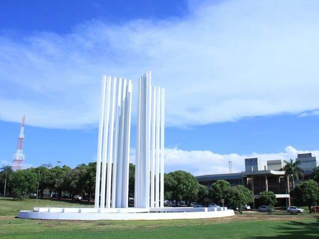 Campus da UFMS em Campo Grande; instituição tem 4,5 mil vagas disponíveis (Foto: Arquivo)