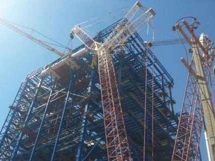 Uma das maiores do mundo, fábrica de celulose da Fibria está 54% concluída