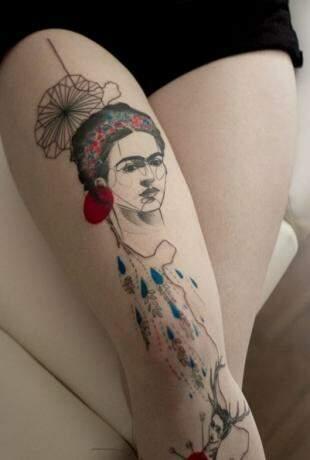 Frida, a mulher conhecida pela força libertária.