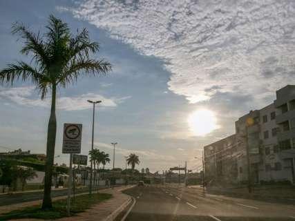 Inmet prevê segunda-feira chuvosa em todo Mato Grosso do Sul