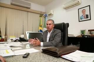 """""""Acho muito prematuro discutir eleições agora"""", diz Azambuja. Tomada de decisão sobre reeleição será em 2018. (Foto: Marcos Ermínio)"""
