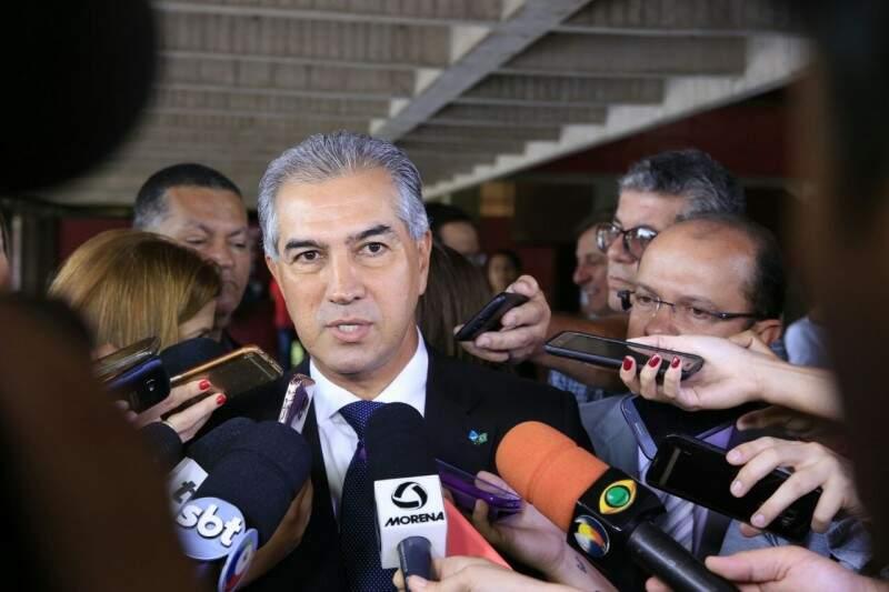Governador participa de evento em Corumbá, nesta segunda-feira (Assessoria - Sejusp)