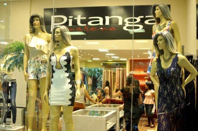 Pitanga Morena do Shopping Pátio Central. (Foto: Alcides Neto)