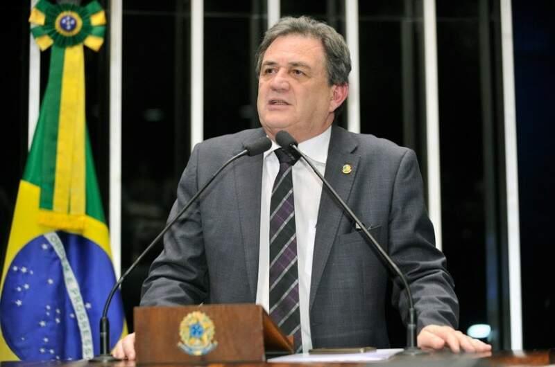 Senador Waldemir Moka votou pela manutenção da prisão (Foto:Arquivo)