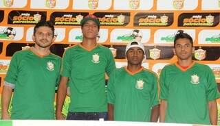 Guilherme, Bruno, Keverson e Uéllisson (Foto: Divulgação)