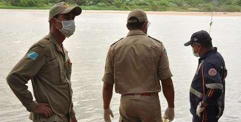 Corpo é encontrado boiando no Rio Taquari e motivo da morte é desconhecido