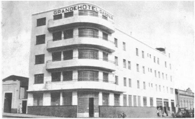 Em 1954 era inaugurado o mais moderno de todos os hotéis do seu tempo: o Gaspar.