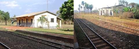 """Abandono e desprezo: estação do Trem do Pantanal """"torrou"""" R$ 739 mil"""