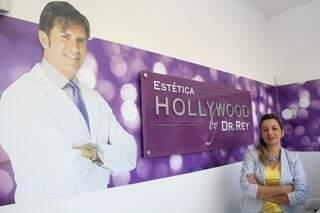 Diretora administrativa da clínica, Andréia Marino