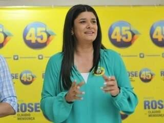 Rose Modesto, candidata a prefeita pelo PSDB. (Foto: Alcides Neto)