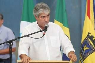 Vereador da oposição cobra andamento da processante na Casa ( Foto - Marcos Ermínio)