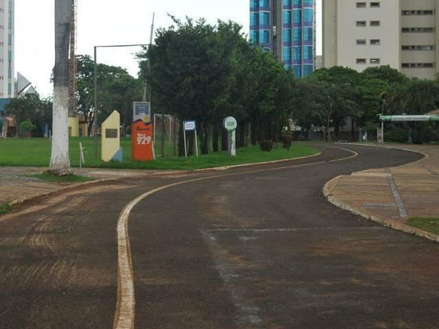 Belmar Fidalgo vazio; ideia é que projetos atraiam mais frequentadores (Foto: Alcides Neto)