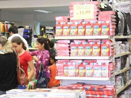 Variação de preço do material escolar chega a 1.505%, segundo Procon