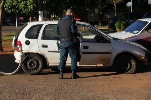 Suspeito de roubo tem braço amputado durante perseguição policial na BR-262