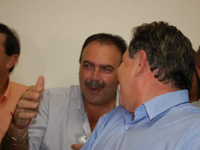 Crítico ferrenho à preferência por Giroto, Siufi não demonstrou insatisfação durante o anúncio (Foto: Wendell Reis)