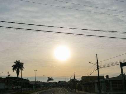 Quarta-feira será de calor recorde, com até 42°C em Mato Grosso do Sul