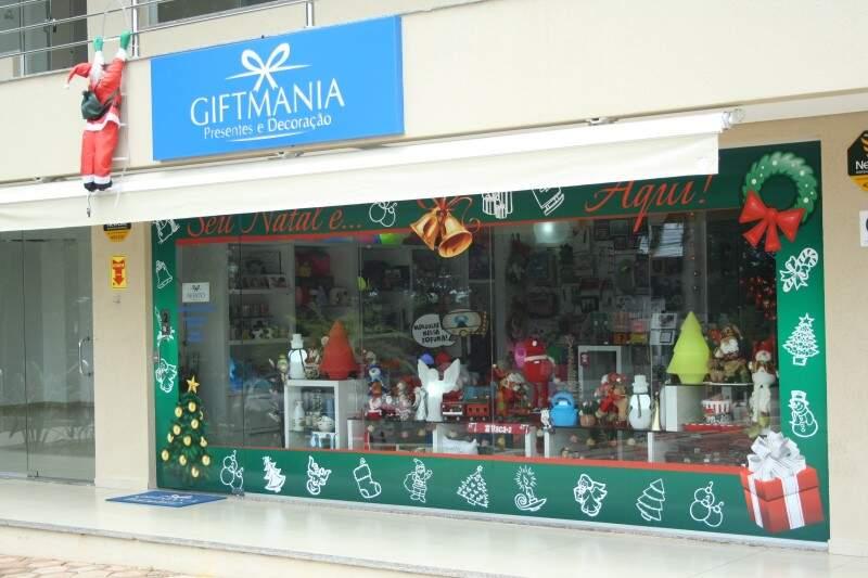 Gift Mania fica na sala 2 da Galeria Espaço Z, no bairro São Lourenço.