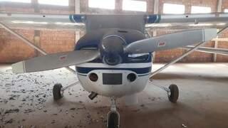Avião é avaliado em R$ 183 mil e tem capacidade para quatro pessoas. (Foto: Divulgação)