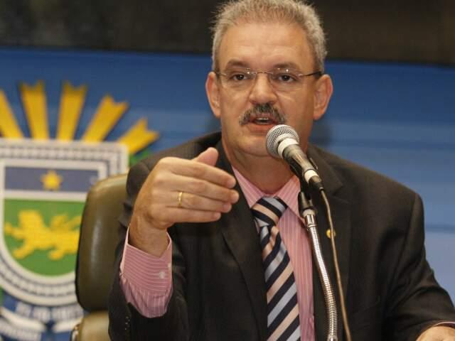 Coordenador da bancada, Geraldo Resende, informou que o documento com indicação será entregue à ministra Ideli Salvati (Foto: João Garrigó)
