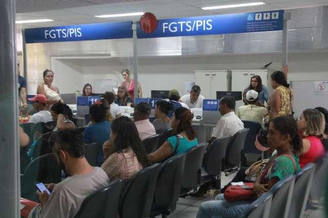 Liberação do FGTS contribui para diminuição de inadimplência na Capital