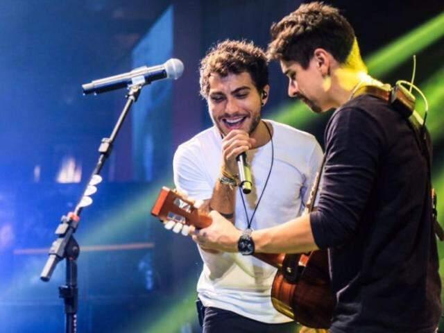 Com a morte do cantor Cristiano Araújo, vem a Campo Grande a dupla Bruninho e Davi.