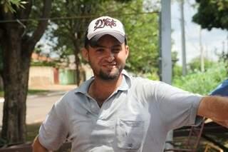 """Fernando, ganhou o apelido de """"Corno Feliz"""". (Foto Cleber Gellio)"""