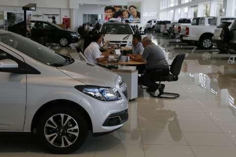 Com 13° na conta, venda de veículos em MS cresce 18% em novembro