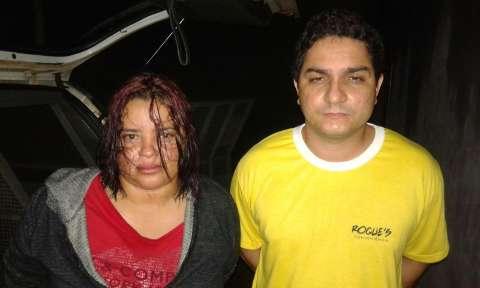 Casal é preso com 10 quilos de cocaína avaliada em R$ 200 mil
