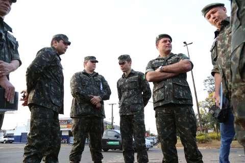 Exército promete começar obra em avenidas da Capital em novembro