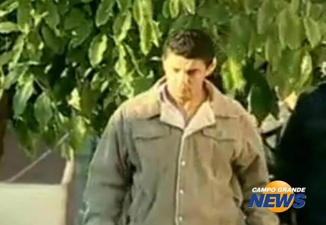 Paulo Roberto Xavier, em foto quando foi preso em maio de 2009. (Foto: Arquivo CGRNews)