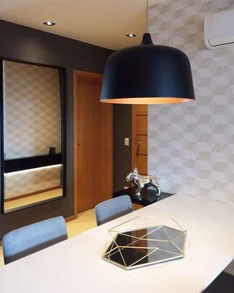 Geométrica, a decoração tem elementos contemporâneos Silvia Bocchnia