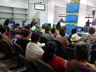 Atendimento na sede da Emha nesta manhã (3) (Foto: Divulgação/Emha)