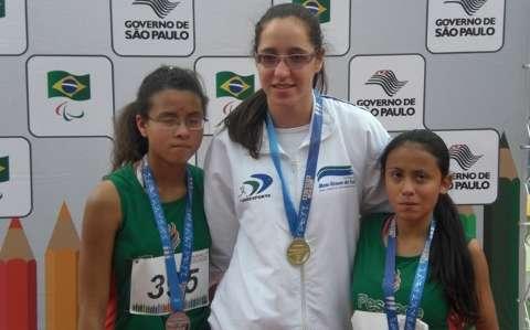 MS conquista 28 medalhas em Paralimpíadas e lidera quadro de medalhas