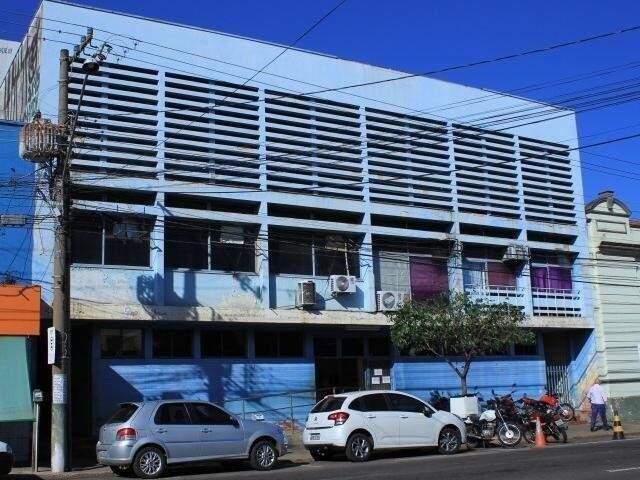 Fachada do Labcen, que funciona na avenida Calógeras (Foto: Arquivo)