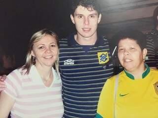 Durante a contagem regressiva em uma rede social, Ana lembrou o momento em que conheceu o levantador Bruninho (Foto: Reprodução / Facebook)