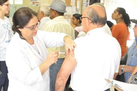 Sem expectativa de prorrogação acaba hoje a campanha de vacinação contra gripe