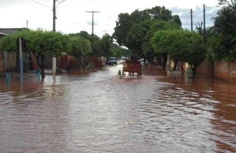 Nova Andradina oficializa estado de emergência por conta das chuvas