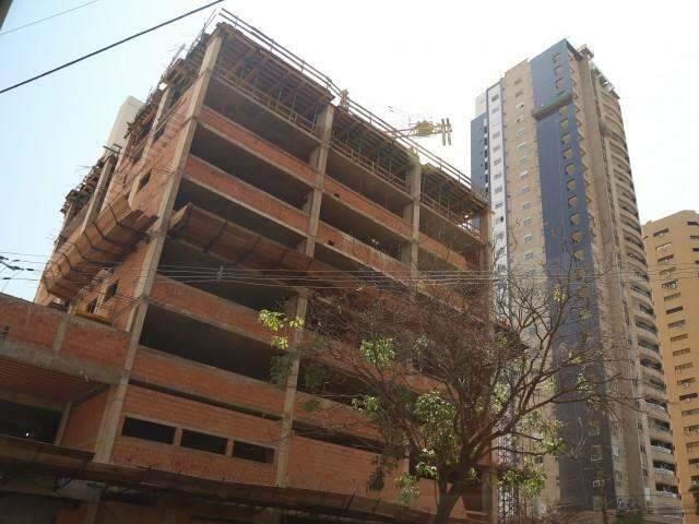 Estudo aponta que há menos de 1 mil prédios em Campo Grande