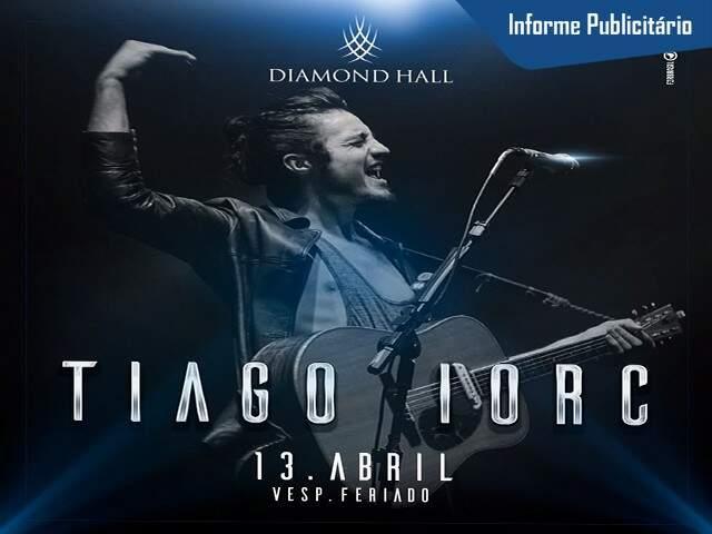 Tiago Iorc - 13 Abril - Foto Divulgação