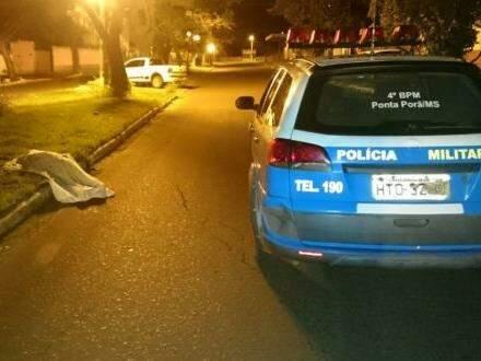 Vítima não portava documentos (Foto:Porã News)
