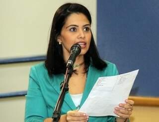Grazielle disse que o Orçamento deve ser votado na quinta-feira (Foto: arquivo)