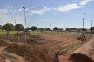 Reformas e ampliações começaram essa semana em Paranaíba.(Foto: Assessoria)