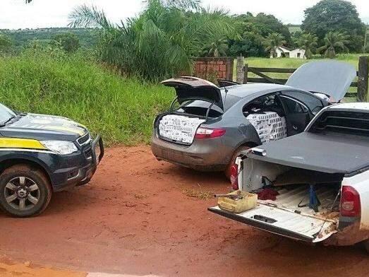 Veículo que transportava a carga estragou na estrada (Foto: Edição de Notícias)